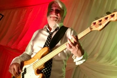 Ian on bass @ Private function