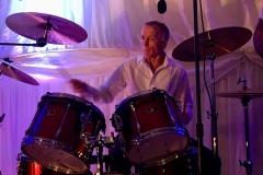 Rob on drums @  Private function